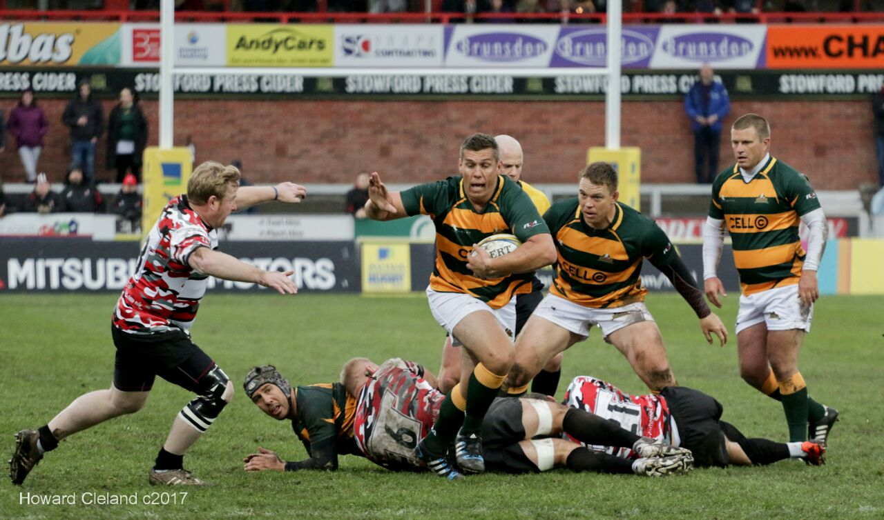 SA Rugby Legends Win in Gloucester