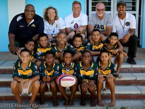 U12 Rugby Team