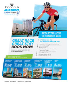 2016 Tsogo Sun Amashova Durban Classic