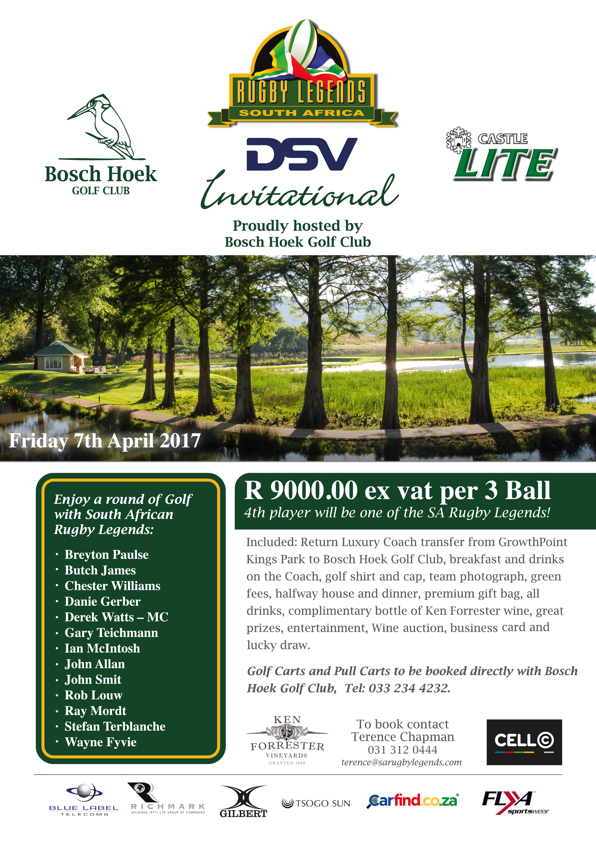 DSV SA Rugby Legends Invitational