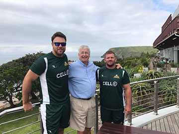 Dale Heidtmann with Professor Andy Andrews and former<br /></noscript>