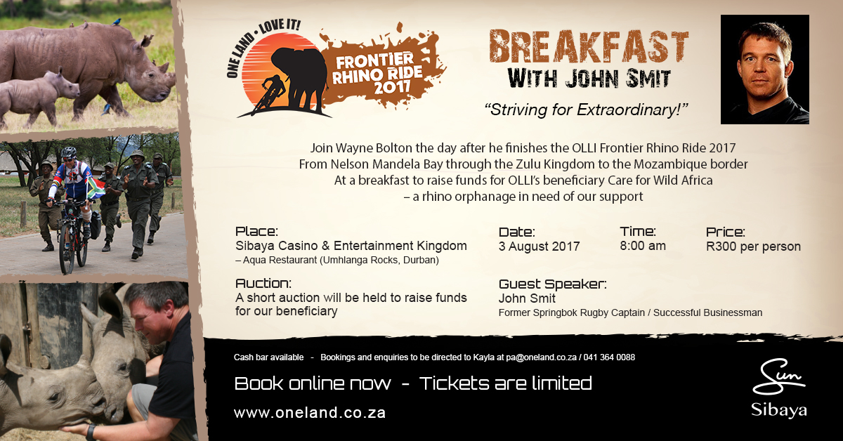 Breakfast With John Smit