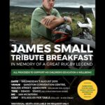 Join SARLA in Honouring Rugby Legend James Small