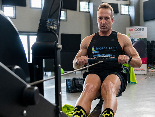 Rugby Legend Tackles a Monumental Charity Challenge