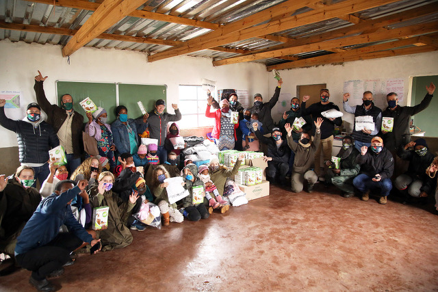 sarlas covid 19 charity drive goes to zululand