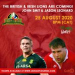 #RUGBYUNITES : The British and Irish Lions are coming!
